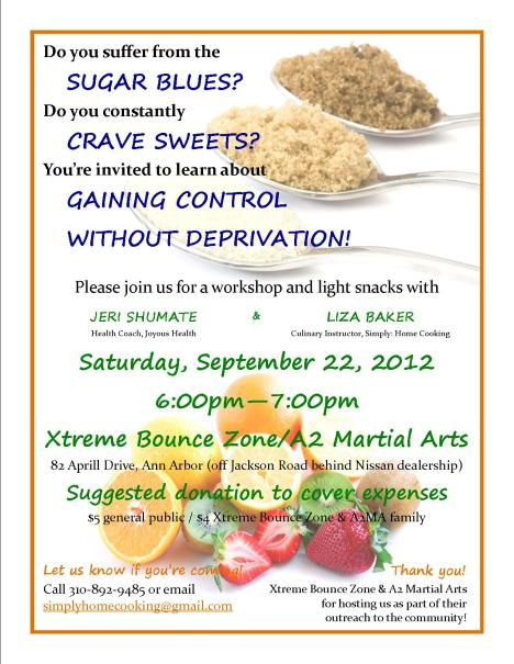Sugar Blues Workshop Flyer